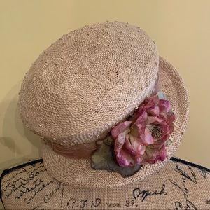 April Cornell straw hat in great used condition